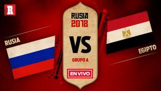 Rusia recibe a Egipto en el segundo partido del Grupo A