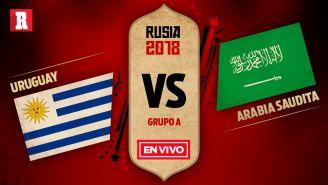 Uruguay se mide a Arabia en el segundo juego del Grupo A