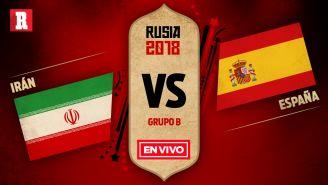 Irán se mide a España en el juego 2 del Grupo B