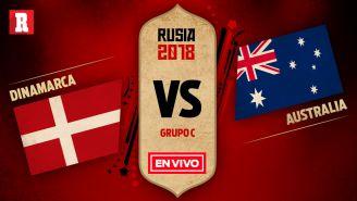 Dinamarca se mide a Australia en el juego 2 del Grupo C