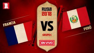 Francia y Perú se enfrentan en el Grupo C de Rusia 2018