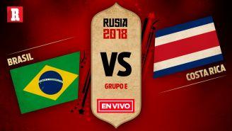 Brasil se enfrenta a Costa Rica en la Jornada 2 del Grupo E