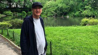 Jorge Vergara pasea por Central Park
