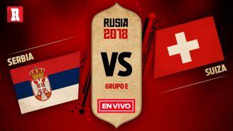 Serbia se mide a Suiza en el Grupo E