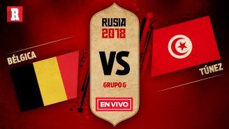 Bélgica se mide a Túnez en el Grupo G