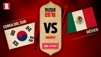 Corea del Sur se mide a México en el Grupo F