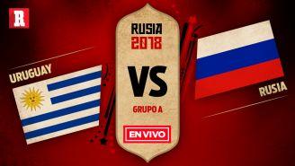 Uruguay y Rusia se miden el último partido del Grupo A