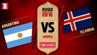 EN VIVO y EN DIRECTO: Argentina vs Islandia