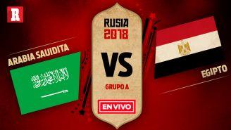 EN VIVO y EN DIRECTO: Arabia Saudita vs Egipto