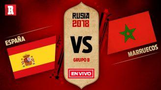 EN VIVO y EN DIRECTO: España vs Marruecos