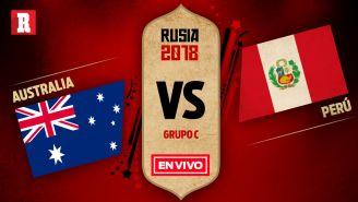 EN VIVO y EN DIRECTO: Australia vs Perú