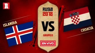 EN VIVO y EN DIRECTO: Islandia vs Croacia