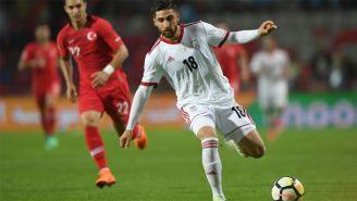 Jahanbakhsh es la esperanza de gol de la Selección de Irán
