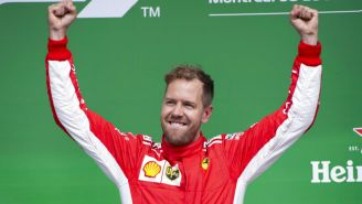 Vettel celebra triunfo en Gran Premio de Canadá