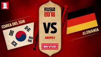 EN VIVO y EN DIRECTO: Corea del Sur vs Alemania
