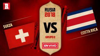 EN VIVO y EN DIRECTO: Suiza vs Costa Rica