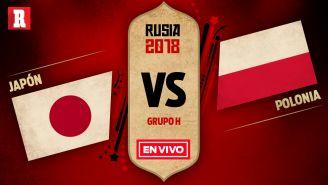 EN VIVO y EN DIRECTO: Japón vs Polonia