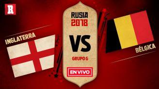 EN VIVO y EN DIRECTO: Inglaterra vs Bélgica