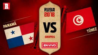 EN VIVO y EN DIRECTO: Panamá vs Túnez
