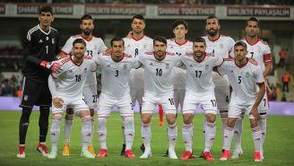 Foto oficial de la Selección de Irán en un duelo amistoso