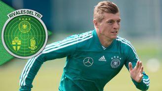 Kroos, en entrenamiento con Alemania