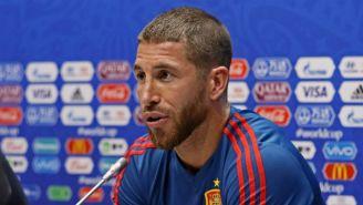Ramos en conferencia de prensa