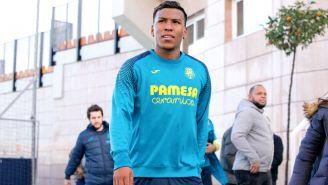 Roger arriba a su primer entrenamiento con el Villarreal