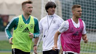 Alemania entrena de cara a su debut en Rusia 2018