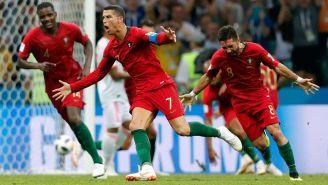 Cristiano Ronaldo celebra uno de sus goles