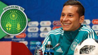 Draxler, en conferencia de prensa previo a juego contra México