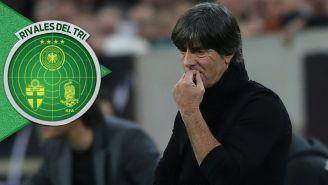 Löw durante un partido de Alemania
