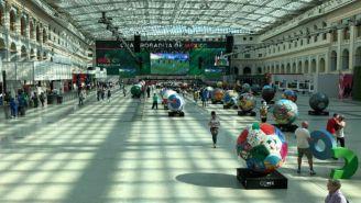 'Pabellón Mexicano' en Moscú