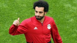 Salah después del partido debut de Egipto