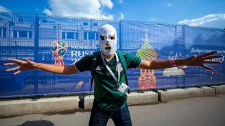 Las populares máscaras entre la afición mexicana