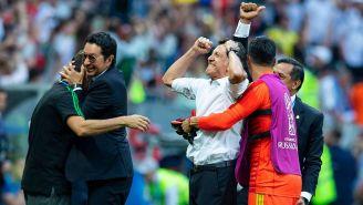 El eufórico festejo de Osorio tras la victoria