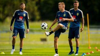 Jugadores de Suecia preparan encuentro contra Corea