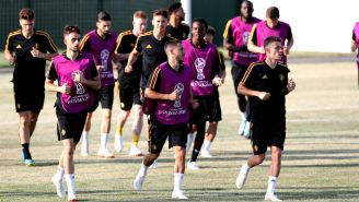 Eden y Thoragn entrenan con Bélgica previo a debut mundialista