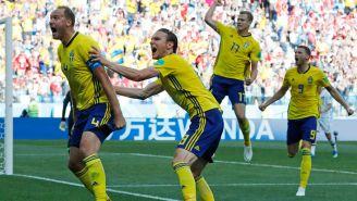 Suecos celebran la anotación de Granqvist