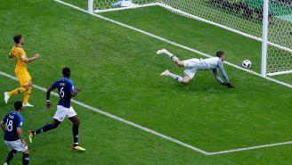 Paul Pogba, en la definición del segundo gol de Francia