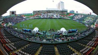 Vista panorámica del actual estadio del León