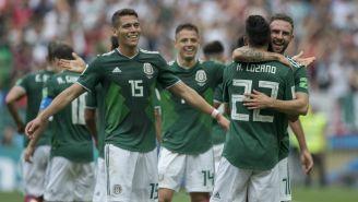 México celebra la anotación de Lozano