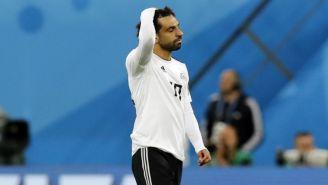 Mohamed Salah, decepcionado tras perder vs Rusia
