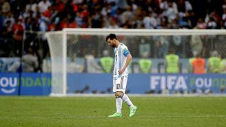 Lionel Messi lamenta derrota frente a Croacia en Rusia 2018