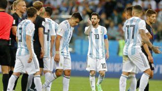 Jugadores argentinos salen decepcionados tras derrota contra Croacia