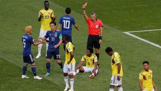 Carlos Sánchez es expulsado en el debut de Colombia en Rusia 2018