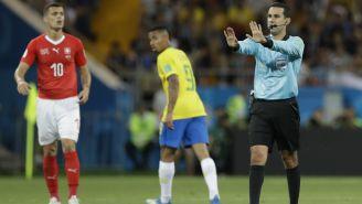 Ramos da indicaciones en el partido de Brasil vs Suiza