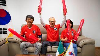 Los integrantes de la Asociación Coreana en México