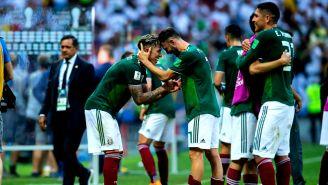 México festeja triunfo en debut mundialista contra Alemania