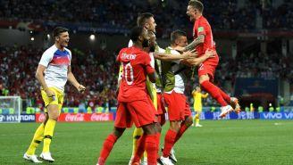 Inglaterra celebra victoria contra Túnez en Copa del Mundo