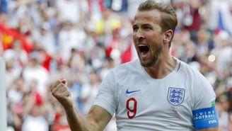 Kane celebra gol contra Panamá
